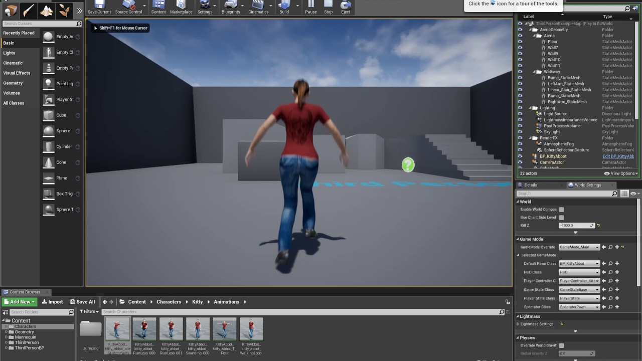 ue4 character - movement disabled during animation sequence