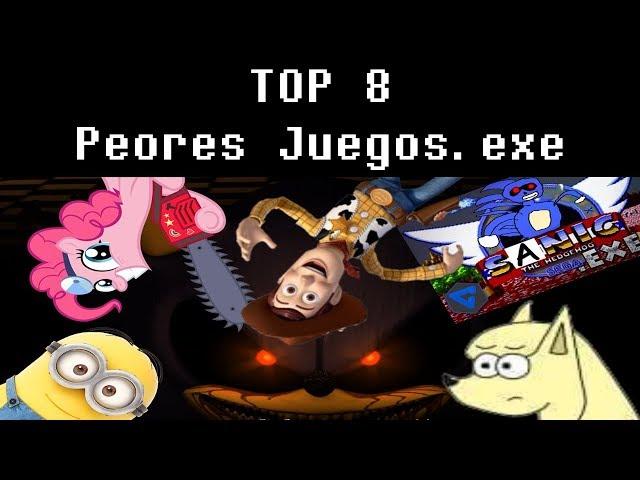 Top 8 - Peores Juegos.exe #1 (Juegos Indie de Terror)