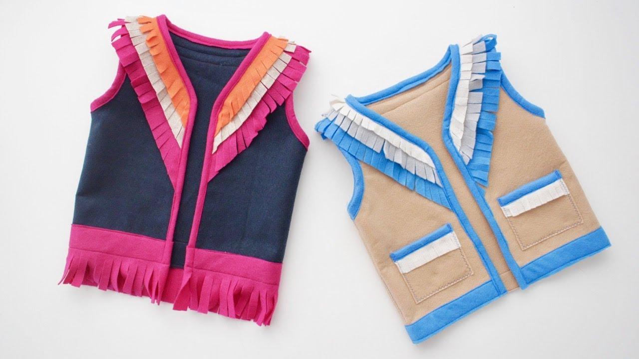 Boys Vest Pattern Custom Inspiration Design