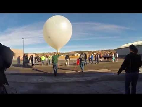 High Altitude Balloon Launch - Newcastle High School - Newcastle, WY
