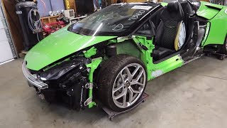 B is for Build BUYS TOTALED HURACAN!!