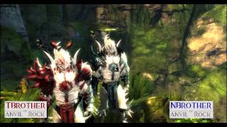 Guild Wars 2 - HD | Escape From Lions Arch | Selfless and Thoughtless potions | Halo and Horns