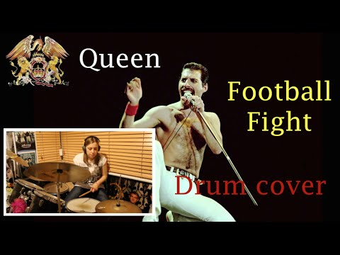 Queen|| Football Fight Drum Cover