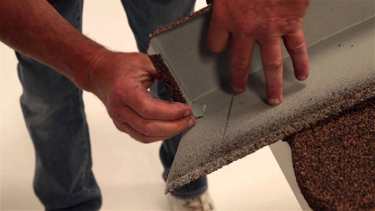 Fixing Installing Lightweight Roofing Barges Youtube