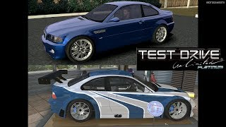 Test Drive Unlimited Platinum - BMW M3 E46 Gameplay and Conversion into BMW M3 GTR [4K 60FPS]