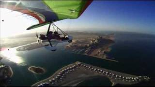 Microlight fun over the Arabic Gulf - azaz a Dubai melo :-)