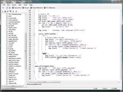 iRule Editor - Traffic Gen - 640x480