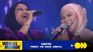 Fiera Vs Aina Abdul Cinta Vokal Mania 2020 MP3