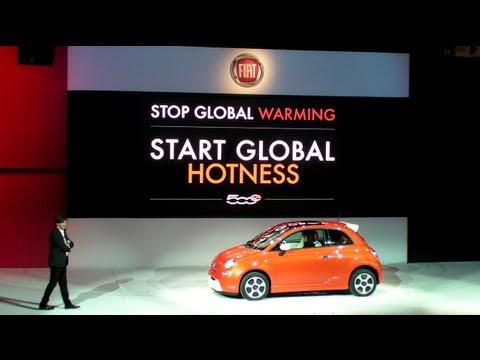 FIAT Press Conference - all electric 500e Debut - Los Angeles Auto Show 2012-11-28