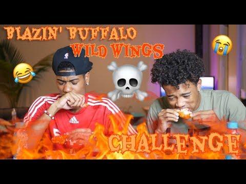 BLAZIN BUFFALO WILD WINGS CHALLENGE PRANK ($500 PRIZE!!!!)
