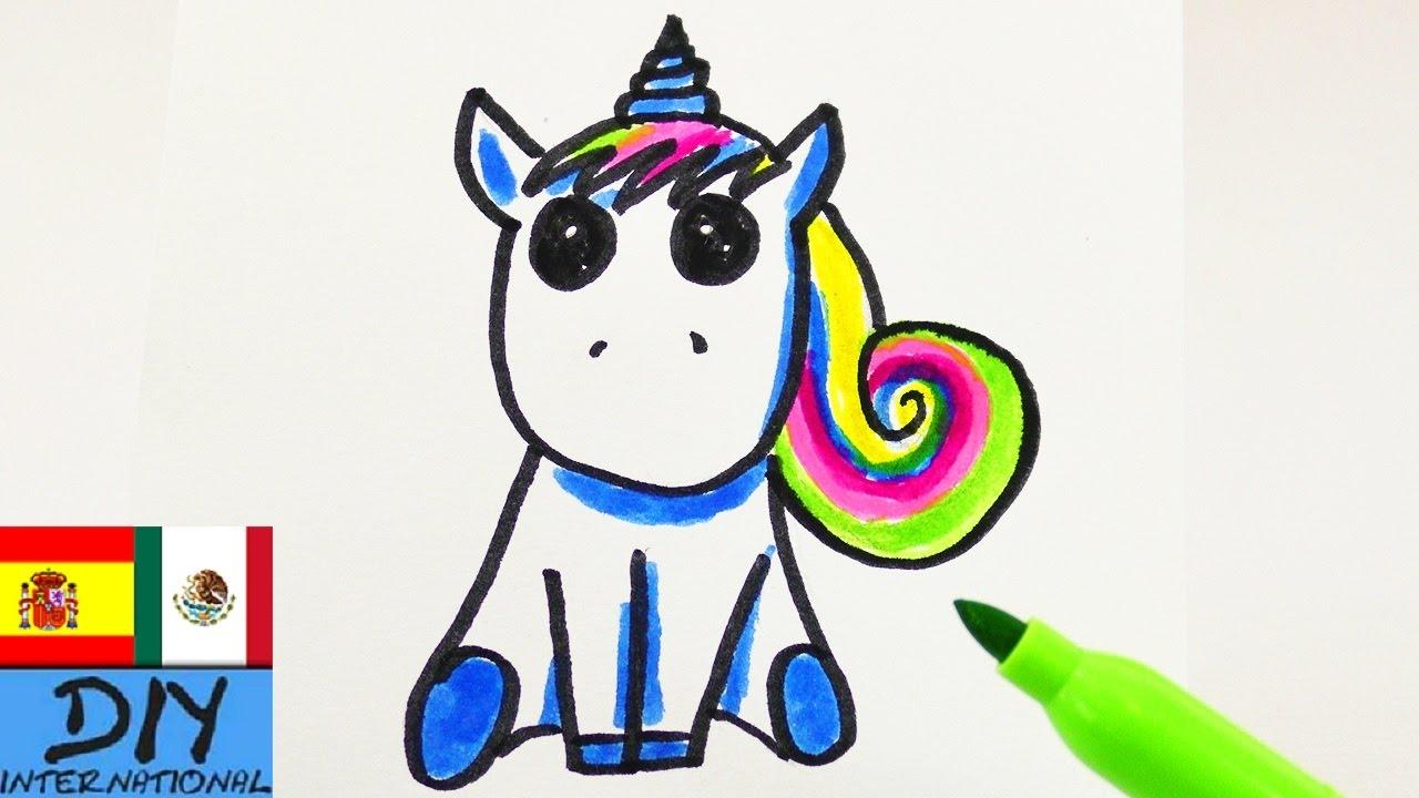 Tutorial De Dibujo Unicornio Como Dibujar Un Unicornio Tutorial