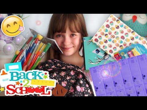 BACK TO SCHOOL 2016 HAUL Przybory Szkolne ❤ CookieMint