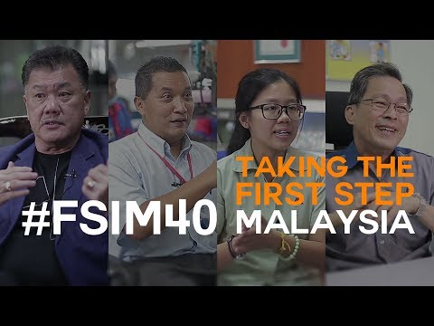 #FSIM40 and the Journey towards Implementing Industry 4.0 in Malaysia