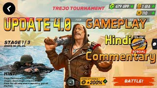 Update 4.0 Trejo Tournament Stage 1 Guns of Boom aNdroid / iOS Gameplay