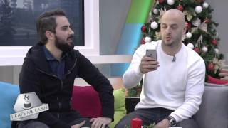 """Adrian Gaxha ft Lindon -Promovimi i videoklipit me te ri """"Asnihere"""" 27.12.2015"""