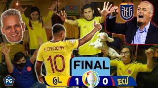 Colombia 1 Ecuador 0 🔥 Copa América Brasil 2021 😱 Reacciones Amigos 🔥 Club de la Ironía