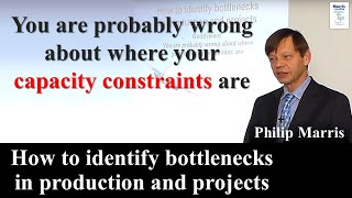 (En) How to identify bottlenecks in production and projects