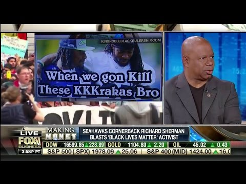 "Seahawks Cornerback Richard Sherman Blasts ""Black Lives Matter"