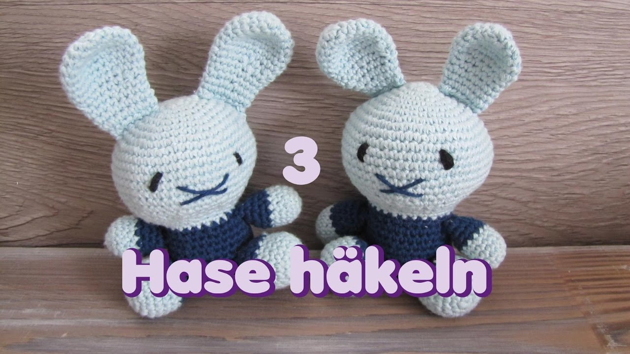 Mini Hase Amigurumi Häkelanleitung von Little Bear Crochets   720x1280