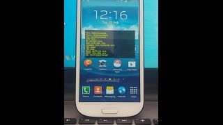 How to exit Factory Mode & samsung s3 showing whole screen Help --h...