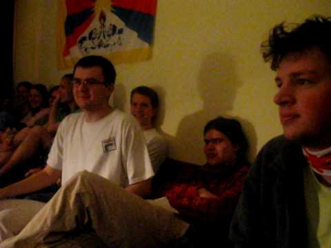 Czech students having a while of high-level conversation