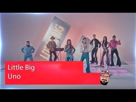 🖖🏻 Иностранец реагирует на Little Big - Uno - Eurovision 2020