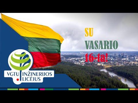 """""""Nupiešiu Lietuvą"""" - sveikina licėjaus mokiniai! (2021.02.16)"""