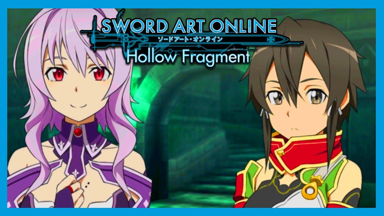 Sword Art Online Hollow Fragment Us English Vita Gameplay