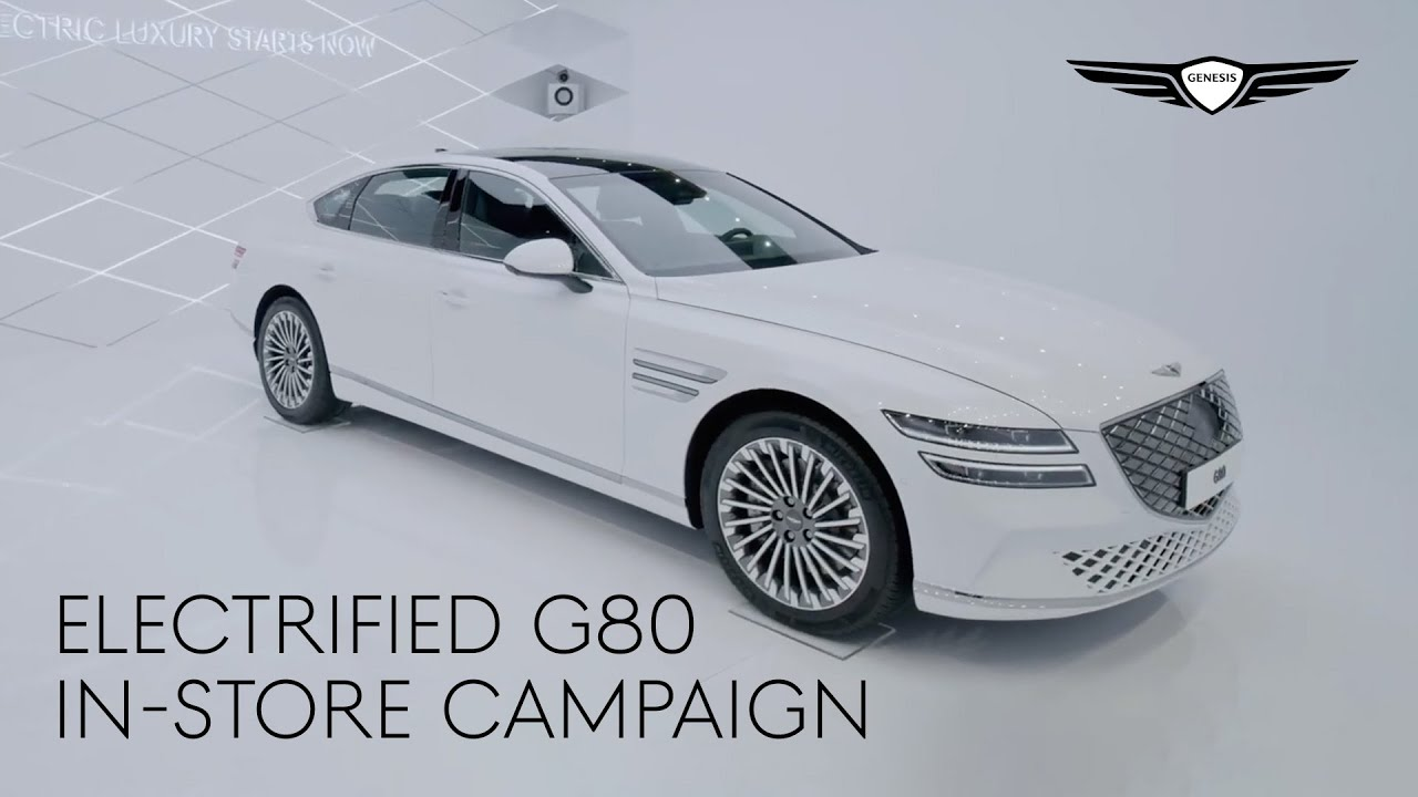 Electrified G80 In-Store Campaign | Genesis