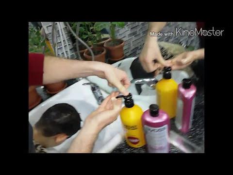 Stilist Rəşad maraqlı saç kesimi...