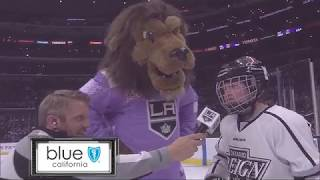 Jr. Reign Night at the LA Kings game at Staples Center!