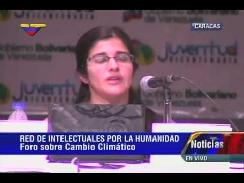 X Encuentro de Intelectuales: Tamara Perelmuter en foro sobre cambio climático