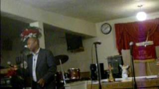 Bro. Cleve Daniels..sings!!  I