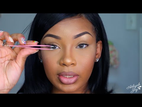 How To Apply Lashes Properly Quickly Informative