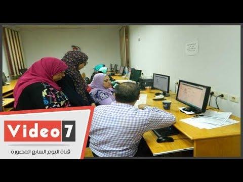 فيديو.. توافد طلاب المرحلة الأولى على مكاتب التنسيق في أسيوط