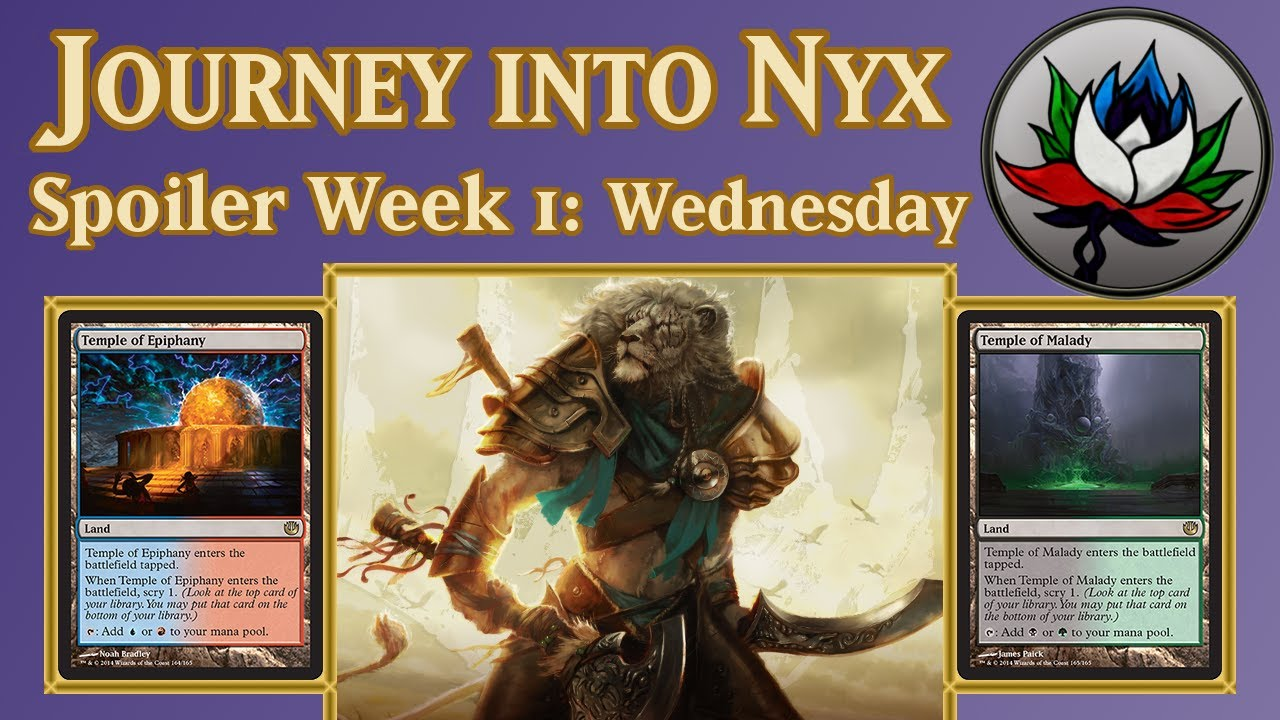 Journey into Nyx Spoilers: Ajani, Mentor of Heroes, Temple ...