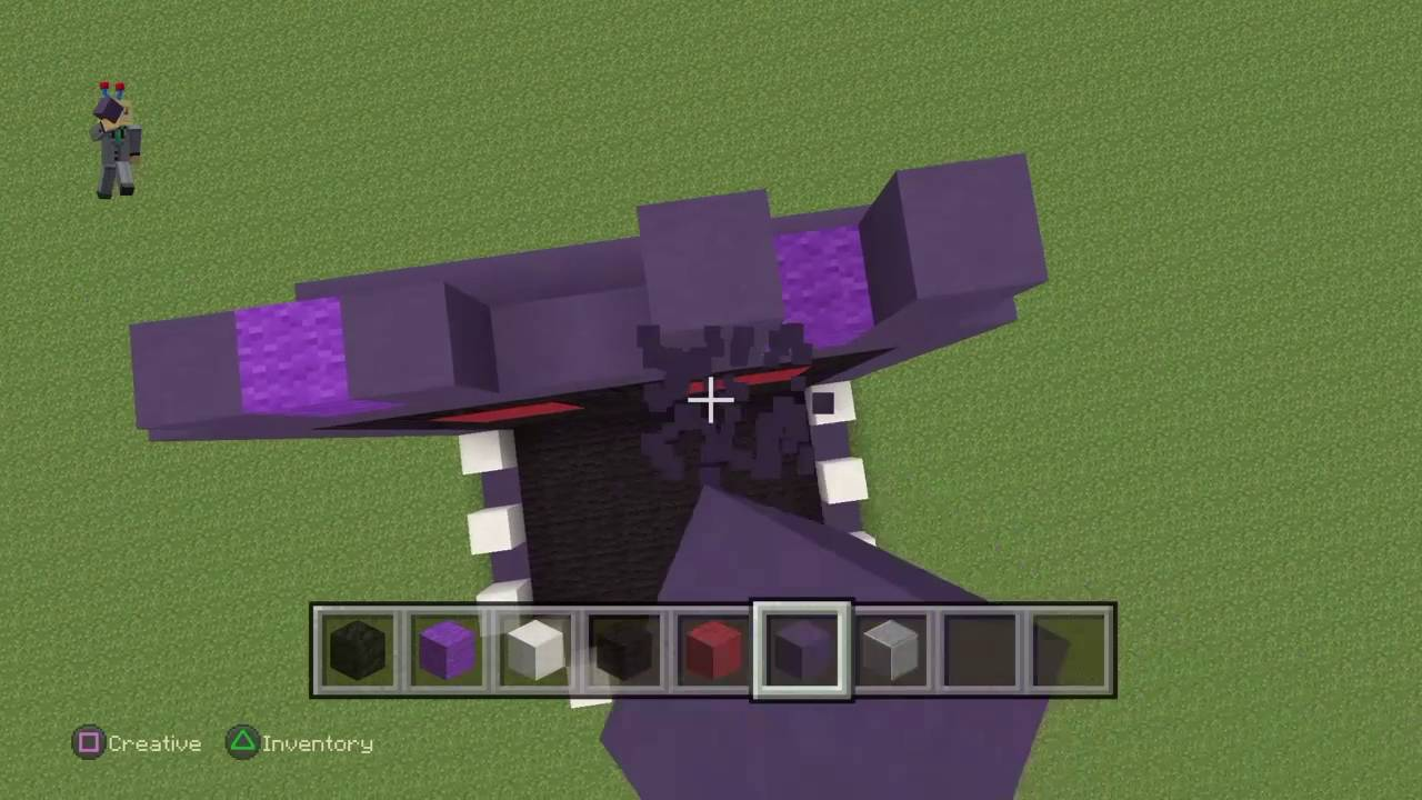 Minecraft how to make withered bonnie FNAF Ep1