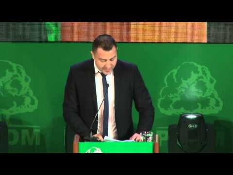 Declarațiile Primarului com.Puhoi r.Ialoveni, Frunză Petru, la Forumul Aleșilor Locali a PLDM