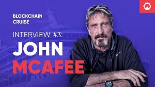John McAfee on lions, gazelles and absolute truth - Tokenbox Cruise Interview #3