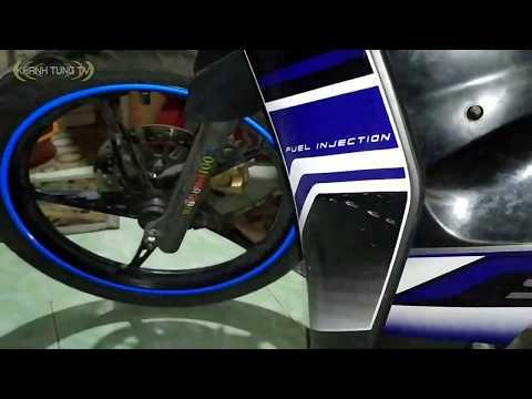 Tem phản quang 1k trên Shopee dán bánh xe cực chất