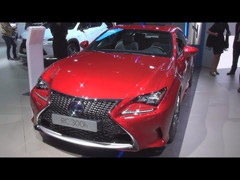 Lexus RC 300h F SPORT Executive (2017) Exterior and Interior