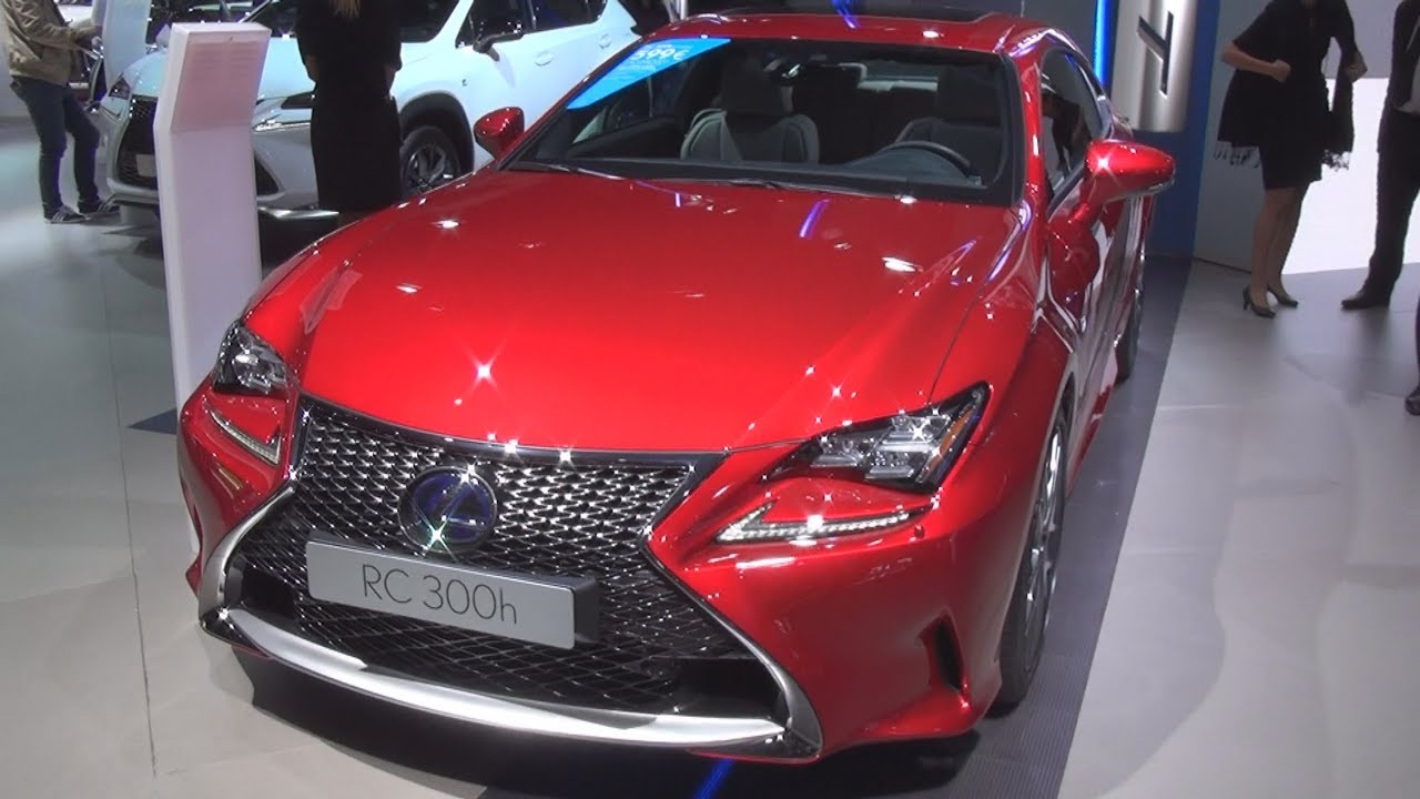 lexus rc 300h f sport executive 2017 exterior and interior youtube. Black Bedroom Furniture Sets. Home Design Ideas