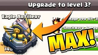 UPGRADING THE EAGLE TO MAX! - Road to Max TH12! - Clash of Clans