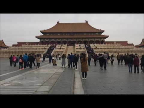 Forbidden City Beijing China Trip Built by Ming Emperor Yongle Completed 1420