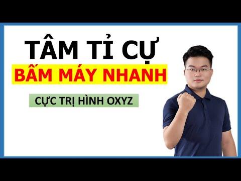 Tâm Tỉ Cự Giải Nhanh Max Min Oxyz Hình Oxyz (Toán 12)    Thầy Nguyễn Phan Tiến