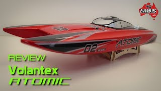 Details about  /Volantex ATOMIC V792-4 RC Boat Parts Hull Cover Painted With Bolt Without Deca