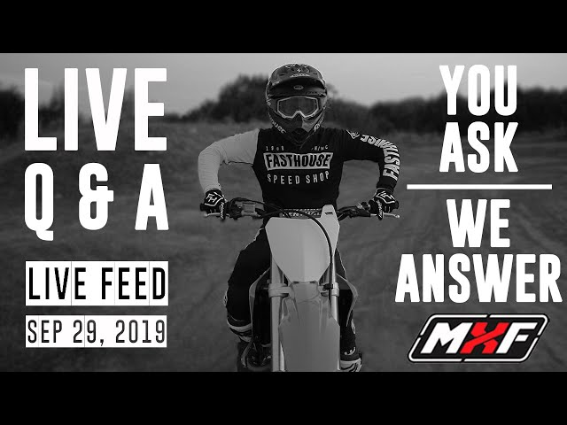 Live Q&A • Sep 29, 2019 • You Ask, We Answer!