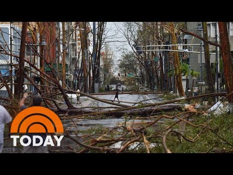 US Army Vets Deliver Key Supplies To Puerto Rico | TODAY