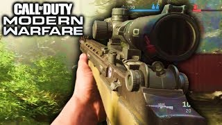 Modern Warfare Multiplayer Gameplay (5  Hours!) Call Of Duty Modern Warfare Gameplay Trailer Reveal