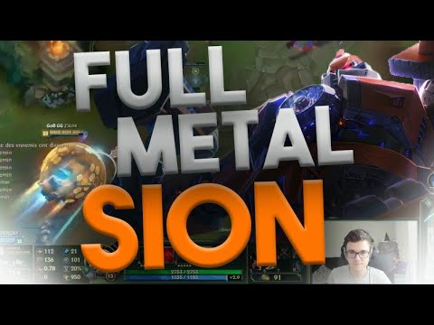 FULL METAL SION IS BACK !
